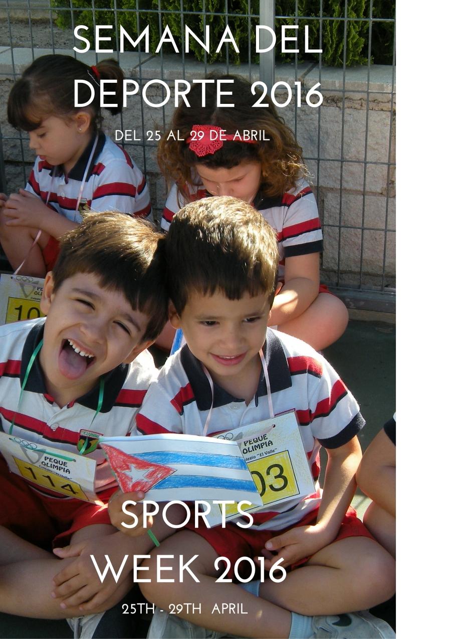 semana del deporte 2016