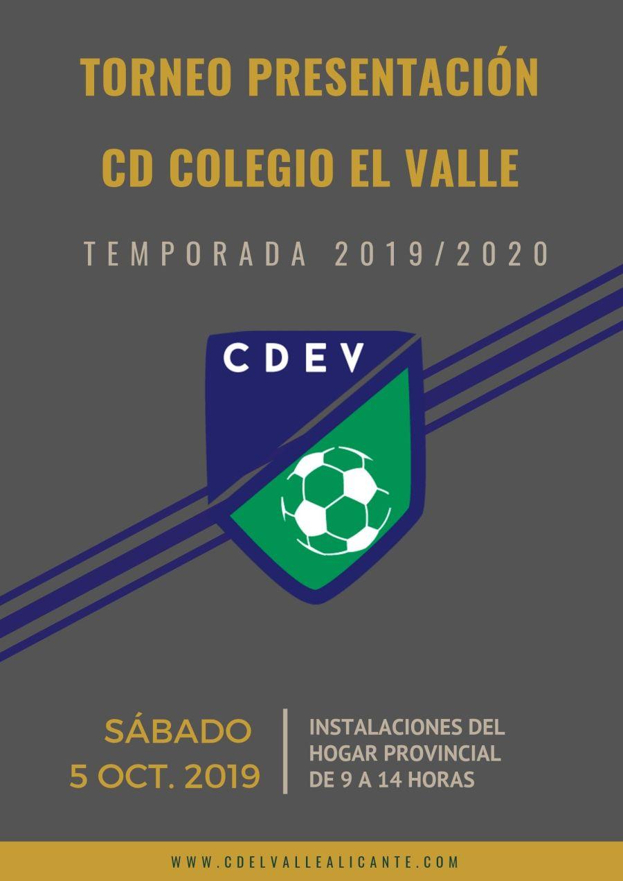 torneo FÚTBOL presentación temporada 2019_2020